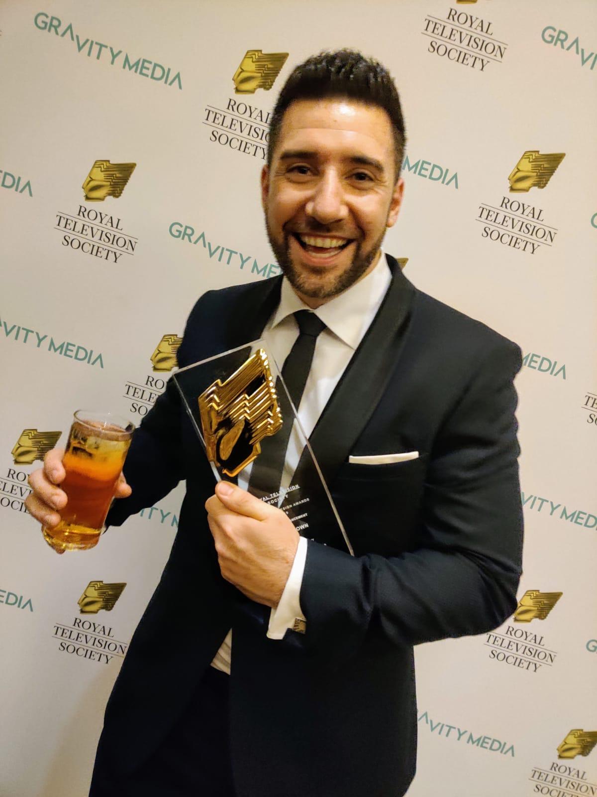 Matt Brown RTS Award
